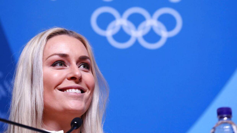 33-årige Lindsey Vonn har fuld fokus på vinter-OL i Pyeongchang.