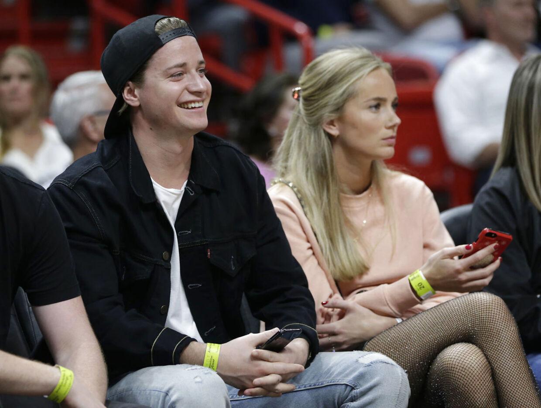 Kygo sammen med kæresten Maren Platou.