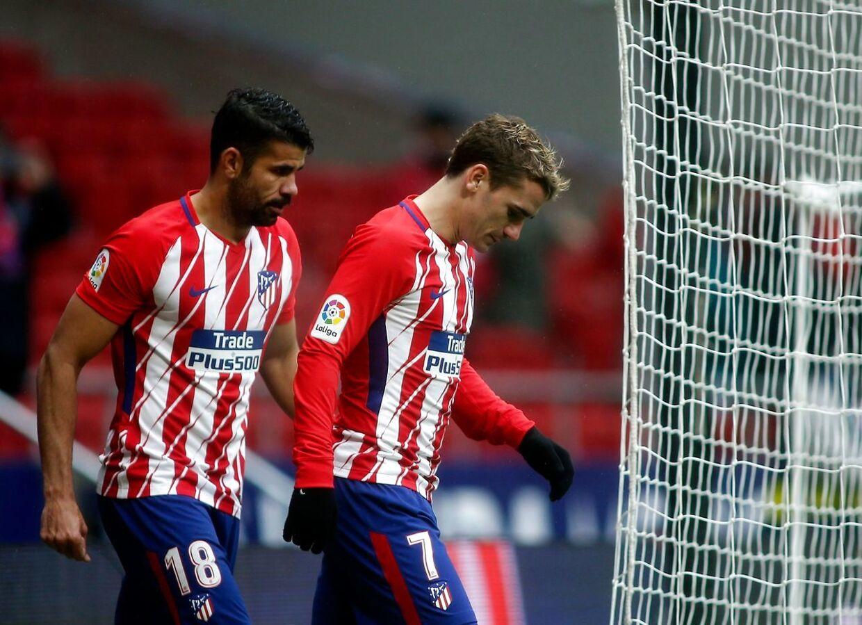 Diego Costa ventes ikke med fra start i Parken. Det er Antoine Griezmann til gengæld, ifølge spanske medier.