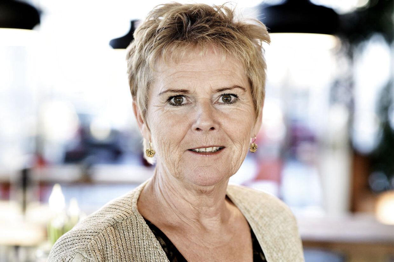 Lizette Risgaard formand for LO i LO's hovedkontor på Islands Brygge i København. Bestilt opgave til CXO.