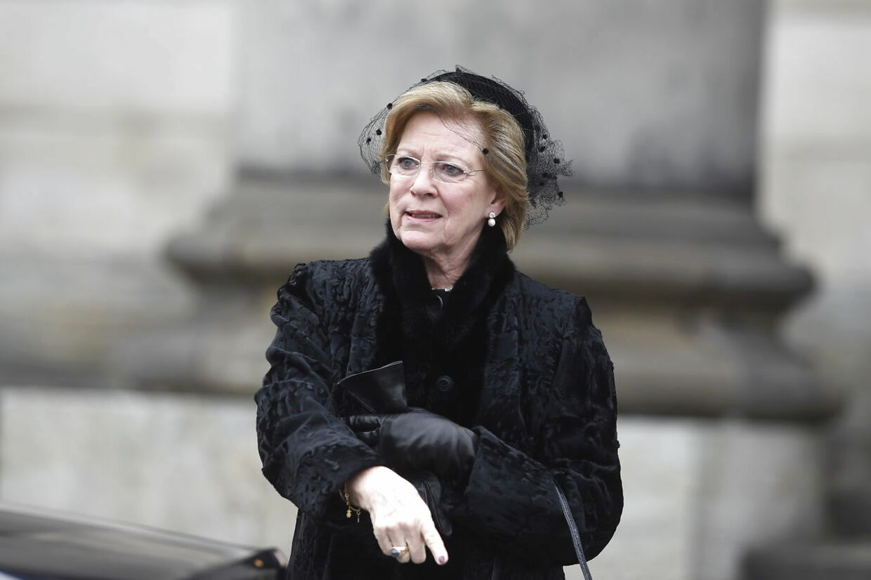 Dronning Anne-Marie.