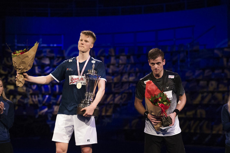 Anders Antonsen vandt, for andet år i træk, guld i badminton herresingle tidligere på måneden. (Foto: Bo Amstrup - Ritzau/Scanpix 2018)