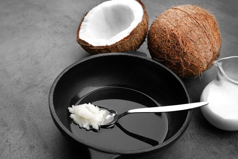 kokosolie tarmkræft