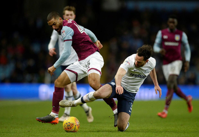 Kampen mellem Aston Villa og Preston var bare en af de 17 kampe, en mand fra Manchester-området havde på sin vanvidskupon, da han med sin fem kroners indsats kunne hæve over en halv million kroner.