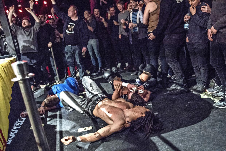 Wrestling, Bodyslam i Pumpehuset.