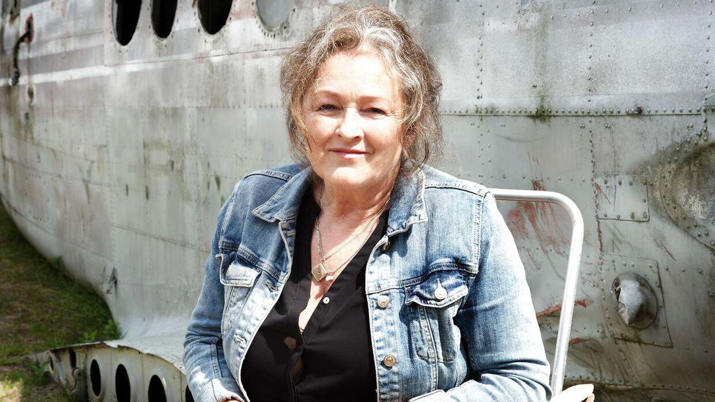 ARKIVFOTO af Kirsten Lehfeldt. Her ses hun under optagelserne til tv-serien 'Arvingerne'.
