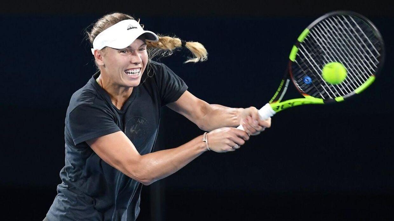 27-årige Caroline Wozniackis fysik er blandt de bedste på WTA-touren.