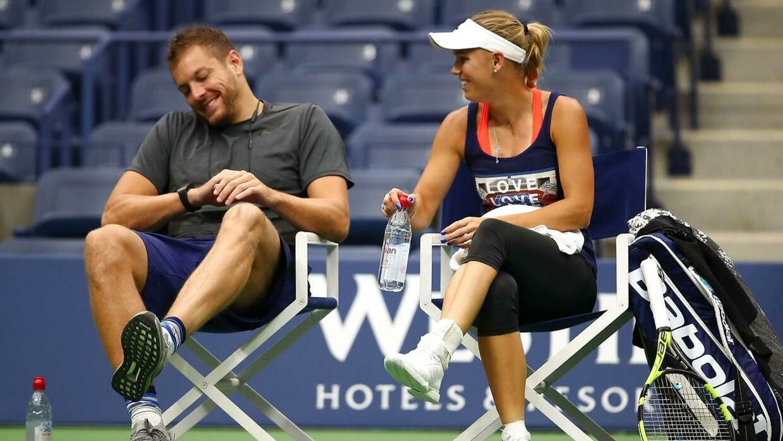 Patrik Wozniacki synes, at David Lee har haft en stor positiv indflydelse på Caroline Woznacki.