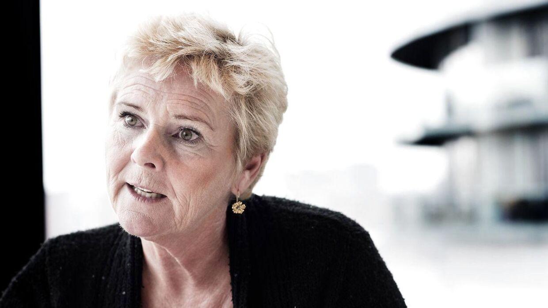 LO-formand Lizette Risgaard.