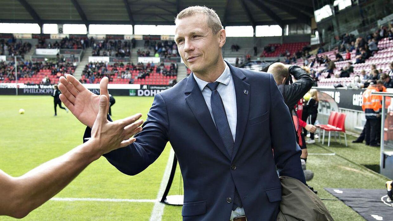 Michael Gravgaard er fortid i Randers FC.