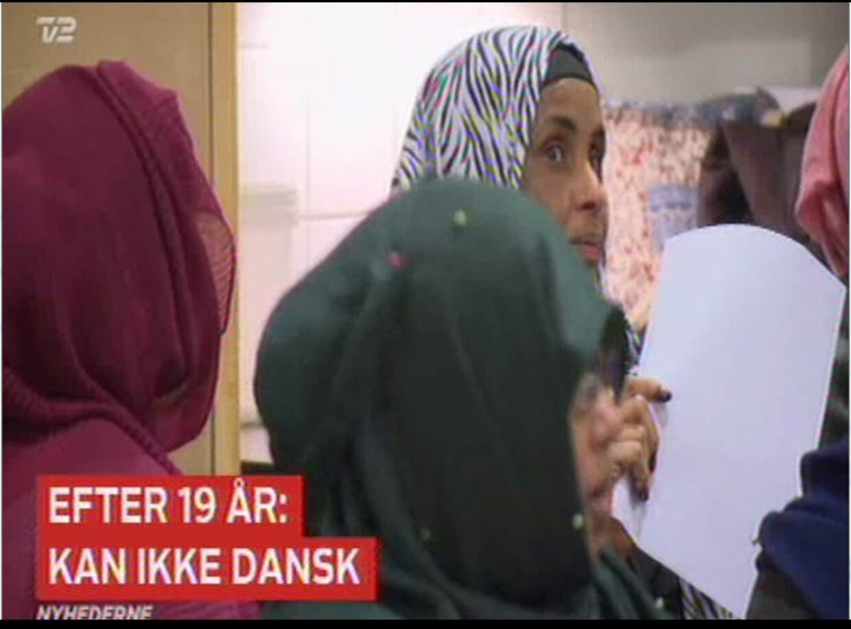 Screendump fra indslag fra TV 2 Nyhderne 18. februar.
