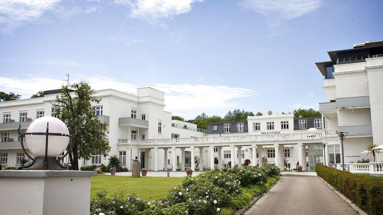 Kurhotel Skodsborg i Nordsjælland, hvor Pia Norup drav sine virksomheder. Foto: Nils Meilvang