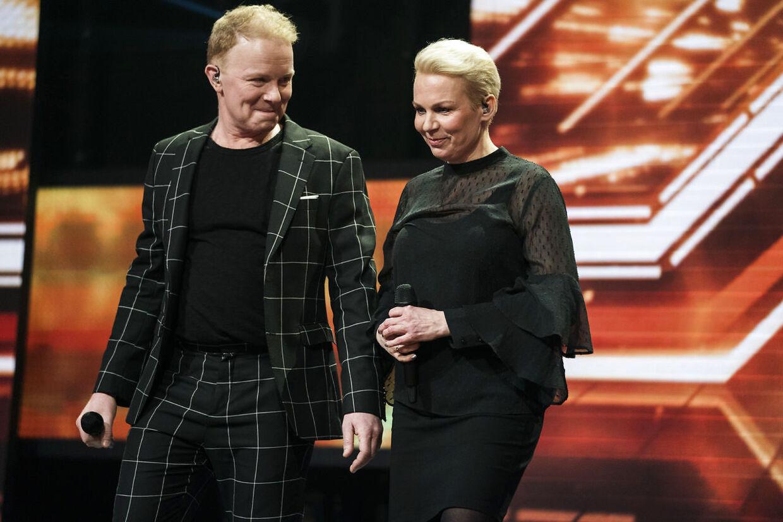 Annemette og Tomas. X Factor fredag den 9. marts.
