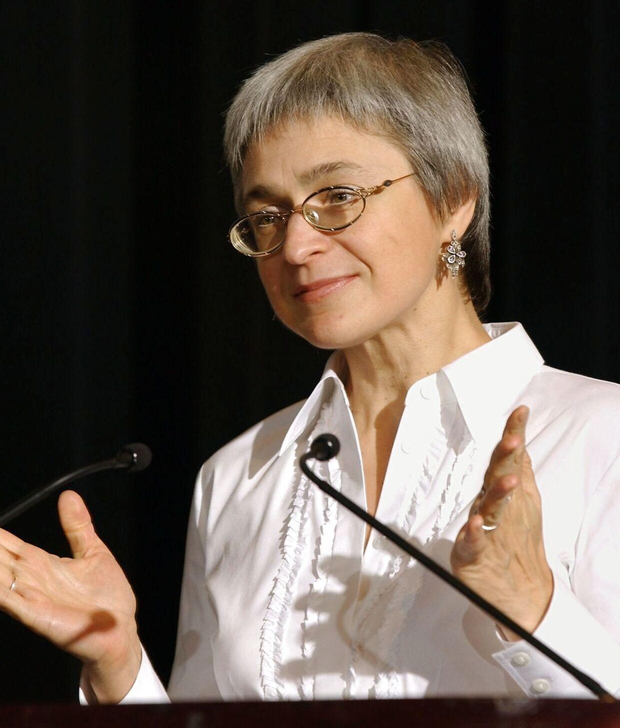 Anna Politkovskaja.