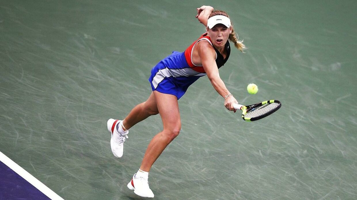 Caroline Wozniacki er til start i Indian Wells.