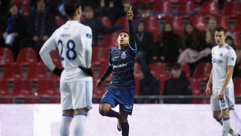 Adnan Mohammed scorede til 3-2.