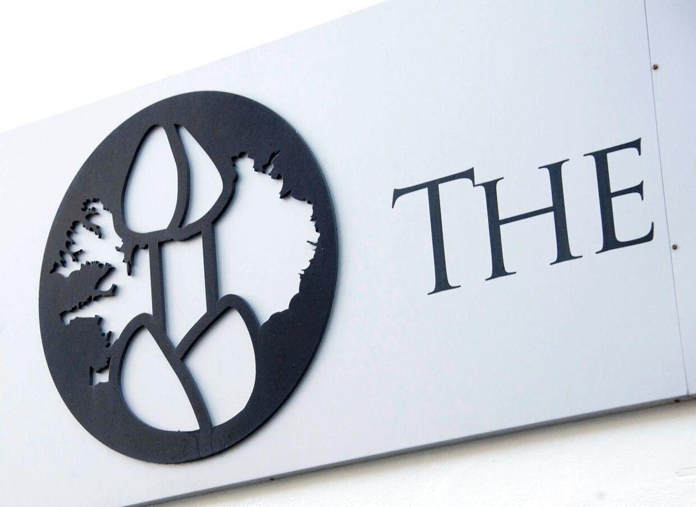 Det logo, de ansatte på kontoret ved siden af Islands Fallologiske Museum beder turisterne gå efter.