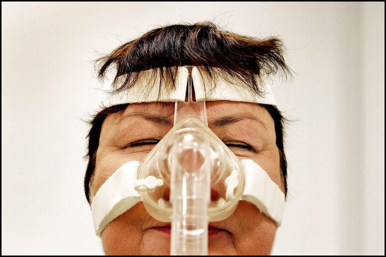 En iltmaske kan være en effektiv behandling mod søvnapnø. (Arkivfoto)