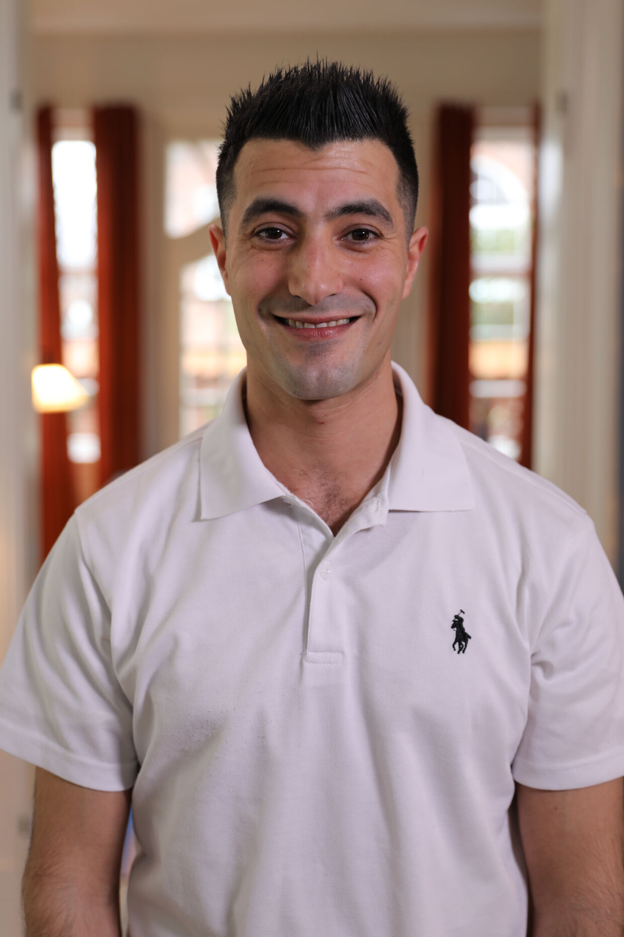 Mohamad El-Saadi var med i datingprogrammet 'Klæd mig af' på TV 2 Zulu. Her ses et pressebillede fra programmet.