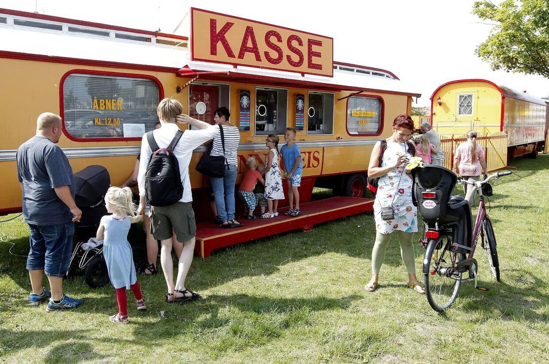 Det er efterhånden flere år siden, at man har kunnet stå i kø for at købe billetter til cirkus Benneweis. Dette billede er fra 2014.