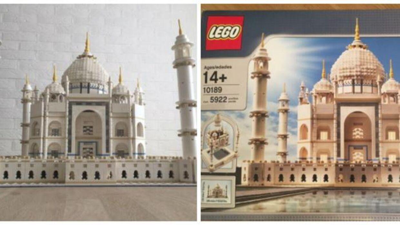 Der er lige nu flere af disse sæt med Taj Mahal-Lego til salg på DBA. Da prisen var på sit højeste, kunne man sælge sådan et sæt for op mod 18.000 kroner.