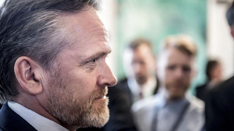 Udenrigsminister Anders Samuelsen (LA). Udenrigsministeriet den 26. marts 2018.