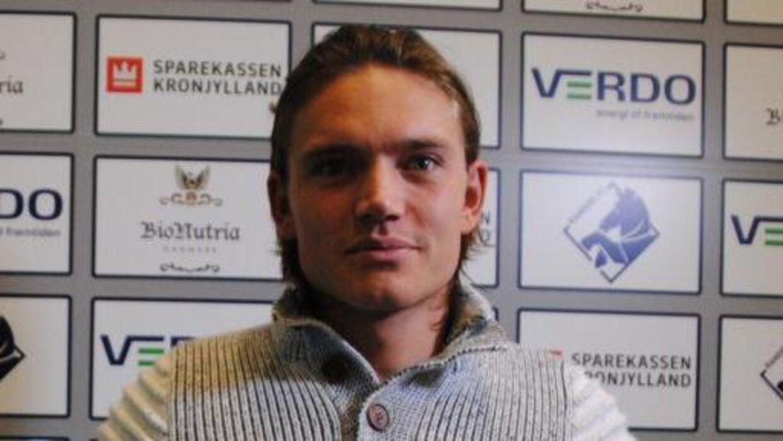 Jannik Skov Hansen har haft selvmordstanker, inden han kom til Randers.