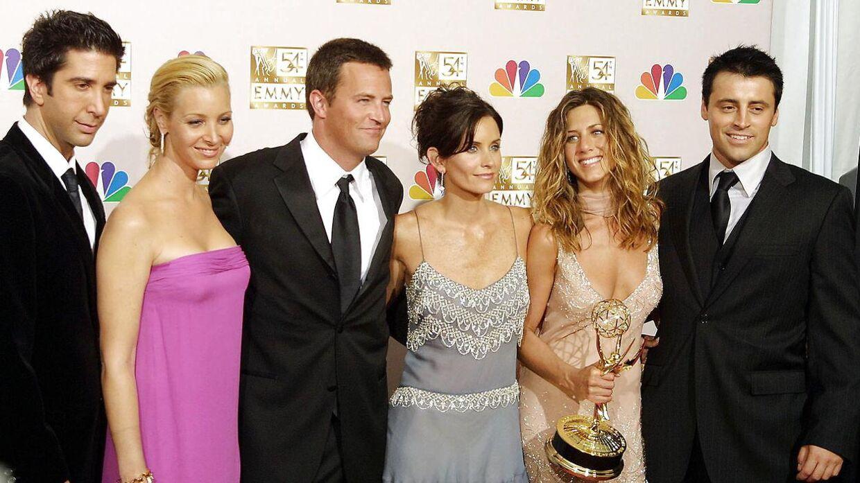 'Vennerne' vandt i 2002 en Emmy for bedste komedieserie. Arkivfoto.