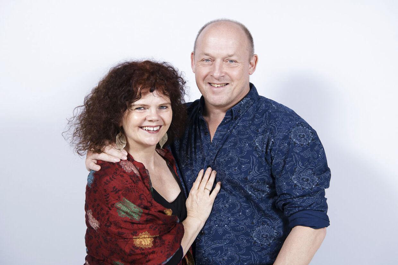 Birgitte Gyrd og Hans Erik Rasmussen er gift på 25. år og har begge lov til at have partnere ved siden af.