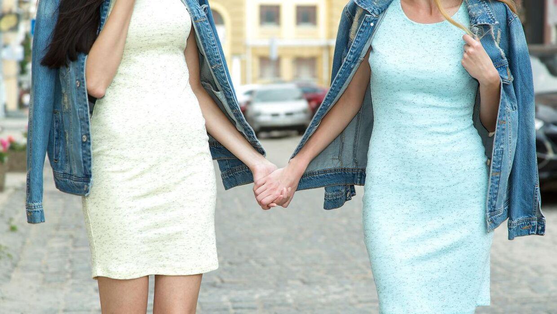 Lesbisk sex vi lever sammen