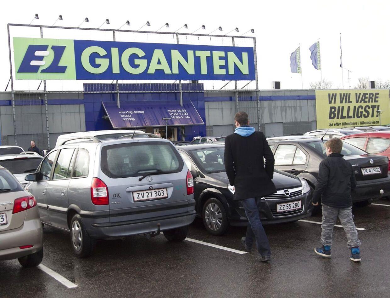 Elgiganten er blandt de kæder, der kan mærke, at danskerne får penge tilbage i skat