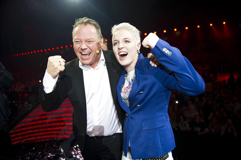 Han vandt programmet i 2011, da han var mentor for den unge Sarah Skaalum Jørgensen