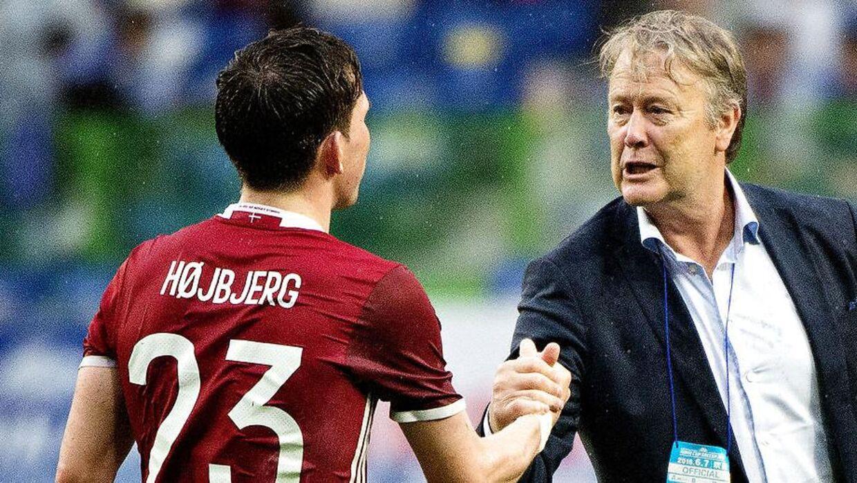 Åge Hareide har tirsdag endelig forklaret, hvorfor Pierre Emile Højbjerg ikke er en del af landsholdet længere.