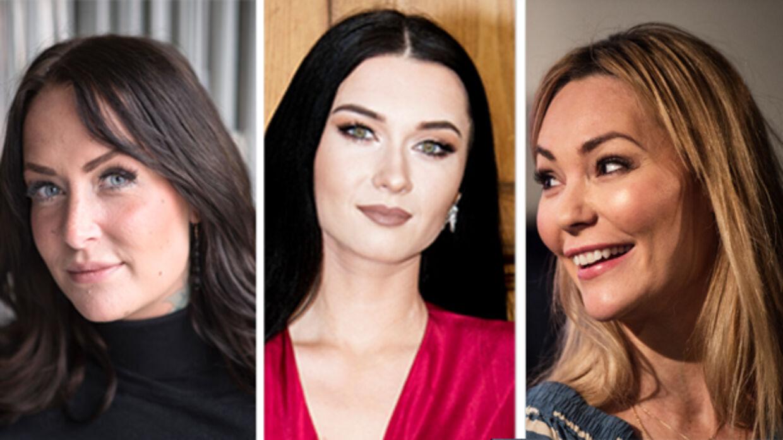 Stephanie 'Geggo Christiansen', Irina Olsen og Mascha Vang har alle reklameret for MyPosture i april.