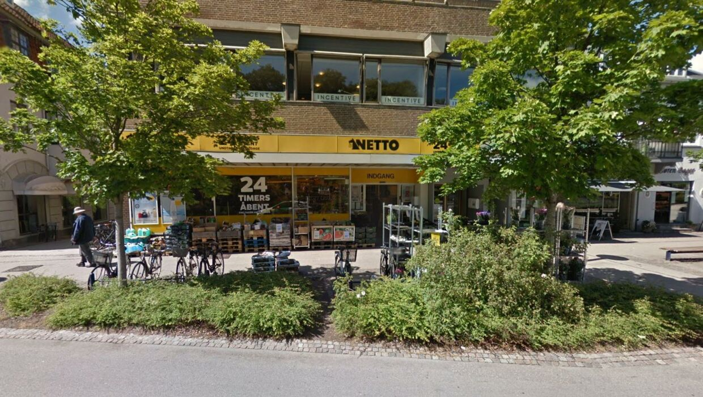 Netto på Holte Stationsvej.