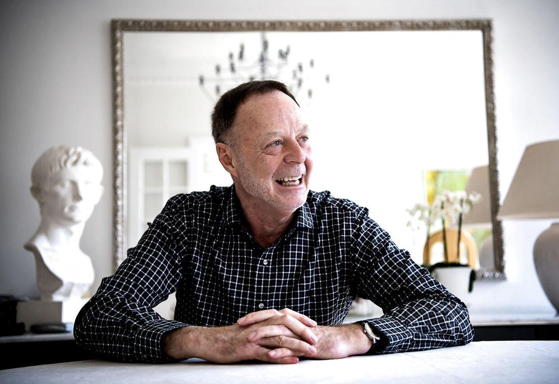 Bent Isager-Nielsen taler med stor begejstring og entusiasme om sine mange oplevelser i dansk politi.