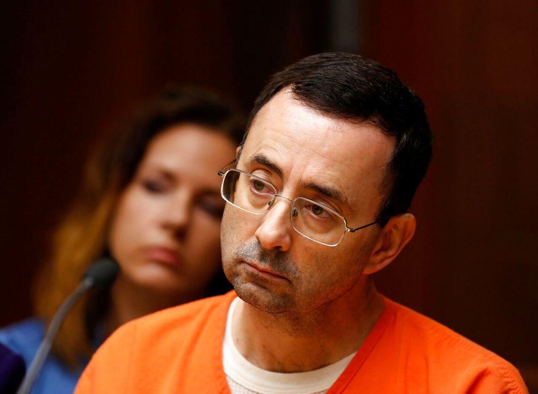 Larry Nassar sidder i dag i fængsel.