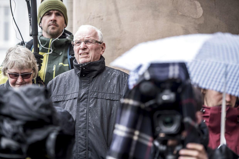 Flere nysgerrige mødte onsdag op foran Københavns Byret i forbindelse med sagen mod Peter Madsen.