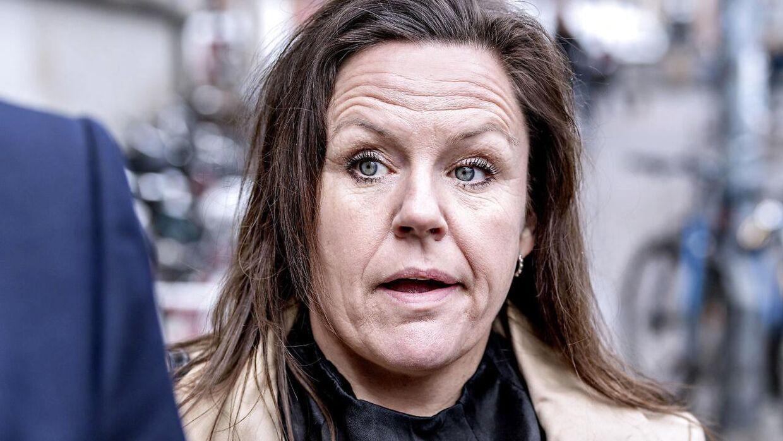 Forsvarer Betina Hald Engmark ankommer til Københavns Byret onsdag.