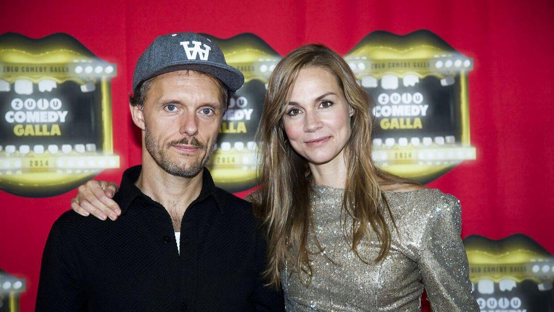 Signe Molde og ægtemanden Peter.