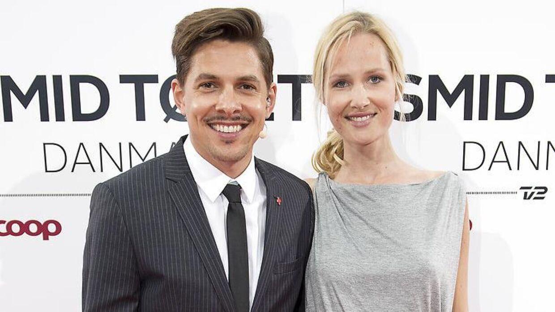 Mattias Hundebøll og Marie Plum bliver snart forældre til endnu en lille dreng.