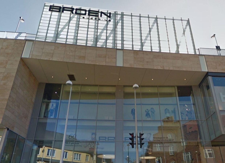 Broen Shopping Center i Esbjerg.