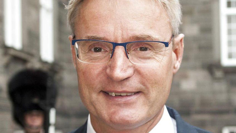 Per Bank, adm. direktør i Dansk Supermarked, vil have en afgiftsfri zone i Sønderjylland. Arkivfoto