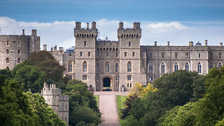 Windsor Castle, hvor brylluppet skal stå.