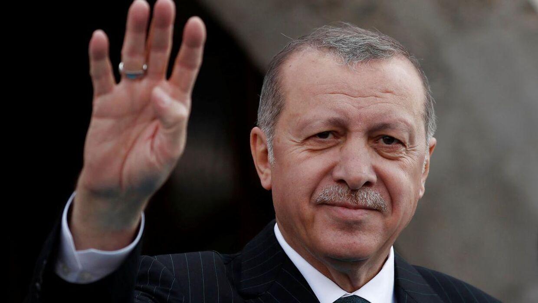 Recep Tayyip Erdoğan har været premierminister fra 2003 til han i 2014 blev Tyrkiets præsident - og er Meral Akşeners hovedfjende ved det kommende valg.