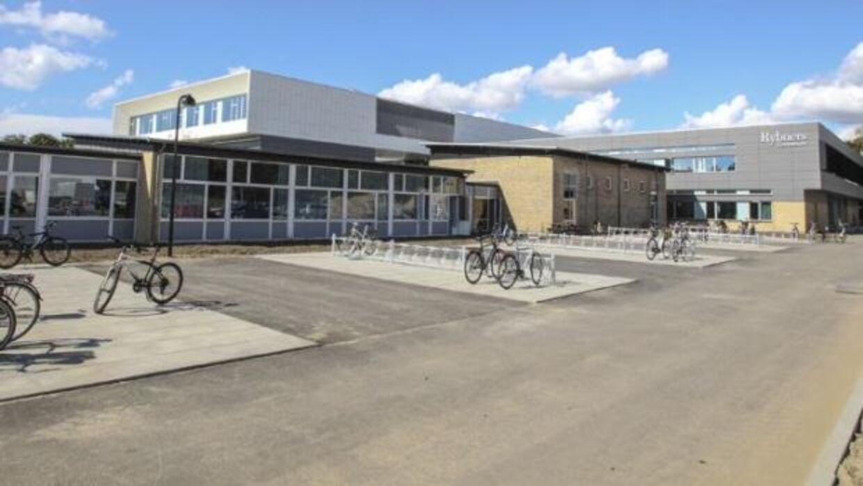 Rybners Gymnasium.