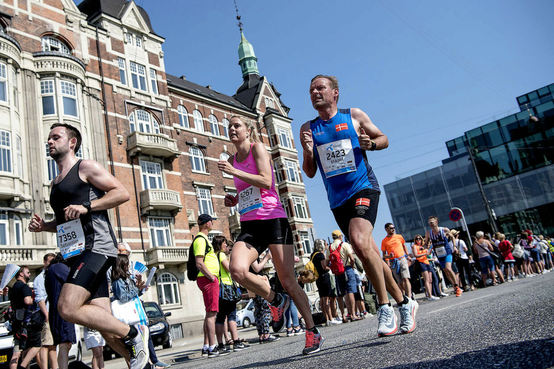 Copenhagen Marathon søndag den 13. maj 2018.