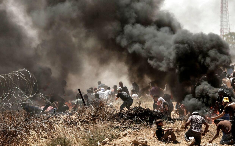 Voldsomme demonstrationer førte til dusinvis af døde ved grænsen mellem Israel og Gazastriben