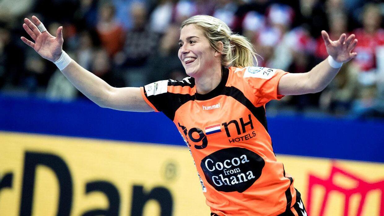Mart Lieders tidligere kæreste Estavana Polman, der også spiller på det hollandske landshold. Til daglig tørner hun ud for Team Esbjerg i den bedste danske række.