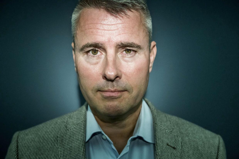 Portræt af Henrik Sass Larsen (S) fotograferet den 9. maj 2018 i anledning af han udgiver en bog. Henrik Sass Larsen (S) vil legalisere hash og afkriminalisere hårde stoffer, fremgår det af ny debatbog.